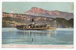 1907---bateau  STADT LUZERN  ..........à Saisir - Ferries