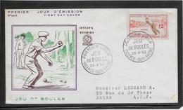 Thème Pétanque  - Jeux Olympiques - Sports - Enveloppe - Bowls