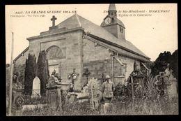 51 -  MOIREMONT (Marne) - L'Eglise Et Le Cimetière - Otros Municipios