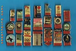 21 PIN'S //  ** COCA COLA ® / 21 JEUX OLYMPIQUE / DIVERS & DIFFERANTS ** . (© 1990 IOC ® The Coca Col - Pin's