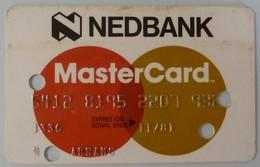 USA - Credit Card - MasterCard - NEDBank - Exp 11/81 - Used - Cartes De Crédit (expiration Min. 10 Ans)