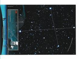 ARGENTINA 2009 ASTRONOMY YEAR SPACE SOUVENIR SHEET GALILEO GALILEI CRUZ DEL SUR - Nuovi