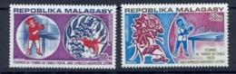 Madagascar Malagasy 043 PA N°137/138 Sport TENNIS DE TABLE MNH ** - Madagascar (1960-...)