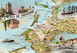 EDIT.ELCE......LA COTE DE SAINTONGE - Cartes Géographiques
