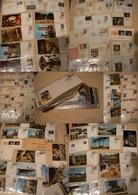 France - Lot D'enveloppes Et Cartes (900 G Environ) - Foire De Paris Essentiellement - Stamps