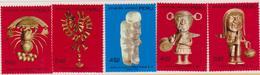 Perù Royal Jewelry Joyas Reales Gold Handcraft Inca Set MNH - Perù