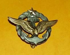 Brevet De Pilote Aéronavale, Dos Guilloché Matricé,FABRICANT DRAGO PARIS,HOMOLOGATION SANS, ETAT VOIR PHOTO  . POUR TOUT - Airforce
