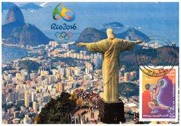 DZ Algeria 1747 Olympics Games Rio De Janeiro Brazil 2016 Jeux Olympiques Sport Brésil - Summer 2016: Rio De Janeiro