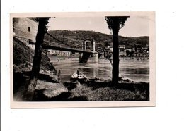 PONT SUR LE RHONE ENTRE SAINT VALLIER (DROME) ET SARRAS (ARDECHE) - Bridges