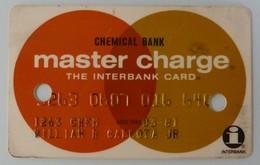 USA - Credit Card - Master Charge - Chemical Bank - Exp 03/81 - Used - Cartes De Crédit (expiration Min. 10 Ans)