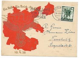 """Propaganda  """" Ein Volk - Ein Reich - Ein Führer """"   - époque Du NSDAP - Guerra 1939-45"""