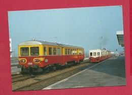 C.P. Givet =  S.N.C.B.  AUTORAIL Diesel  Série 45 SNCB En Gare - Givet