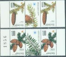 BHRS 2007-410-11 SAVE EUROPEAN NATURE PROTECTION, BOSNA AND HERZEGOVINA-R.SRPSKA, 2 X 2v + Labels, MNH - Bäume