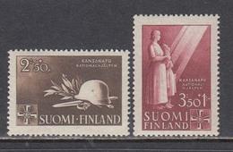 Finland 1943 - Nationalhilfe, Mi-Nr. 275/76, MNH** - Finland