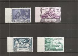 UPU ( 96/99 XXX -MNH- Du Nyassaland ) - U.P.U.