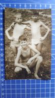 B&W Amateur Photo Boys Beach - Anonyme Personen