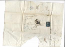 Lettre Anglaise Datée De 1860 - 1840-1901 (Victoria)