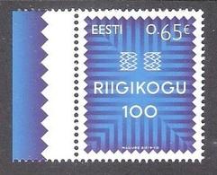 Estonian Parliament 100 Estonia 2019 MNH Stamp  Mi 952 - Feste