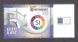 100th Anniversary Of Metrosertt Estonia 2019 MNH Stamp  Mi 957 - Organisations