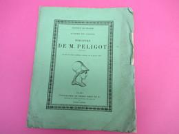 Fascicule/Botanique/Institut De France/Académie Des Sciences/M PELIGOT Président/Dédicace A Lavallée/1878   MDP116 - Books, Magazines, Comics