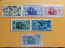 REGNO 1932 - Dante Alighieri - Posta Aerea Nn. A26/31 - Nuovi Senza Gomma + Spese Postali - Posta Aerea