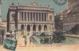 Marseille (13) - Le Square Et Le Palais De La Bourse - Marsiglia