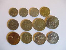 Cyprus: Lot De Monnaies Pré-euro. - Cyprus