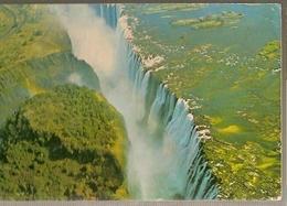Zimbabwe & Circulated, Victoria Falls, Via Causeway To Maputo Moçambique 1981 (166) - Zimbabwe