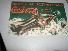 CARTONCINO PUBBLICITARIO COCA COLA - Altri