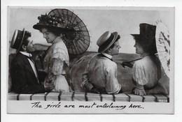 Edwardian Card - The Girls Etc. Davidson - Couples