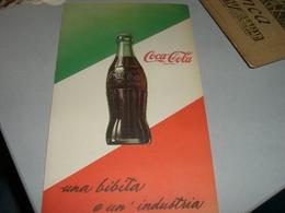 DEPLIANT  PUBBLICITARIO COCA COLA - Altri