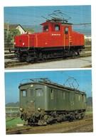 Trains Lot De 10 CPM - Cartes Postales