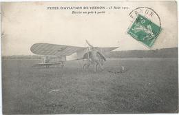 CPA 347 -- AVIATION -- 25 Aout 1912 Barrier Est Prêt A Partir - Postcards