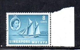 APR1171 - SINGAPORE 1955 , Ordinaria Yvert N. 33  ***  MNH  (2380A) . - Singapore (...-1959)