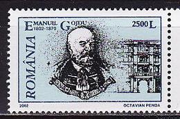 Romania, 2002, Famous People, 1 Stamp - 1948-.... Republieken