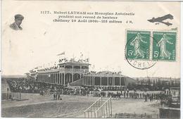 CPA 341 -- AVIATION -- Hubert LATHAM Sur Monoplan Antoinette - Postcards