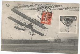 CPA 340 -- AVIATION -- Biplan FARMAN Piloté Par FISHER - Postcards
