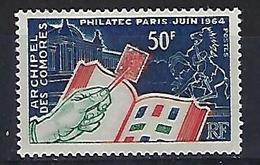 """Comores YT 32 """" Philatec """" 1964 Neuf** - Comoro Islands (1950-1975)"""