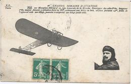 CPA 332 -- AVIATION -- NOEL Sur Monoplan BLERIOT - Postcards