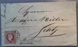 """""""GONOBITZ"""" (Steiermark, Slowenien Konjice) Selten Auf 1867 Ausgabe Brief > Gratz (Österreich Cover Slovenia Slovenske - Briefe U. Dokumente"""