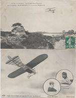 CPA 331 -- AVIATION --  Le Capitaine MARCONNET Et Le Lieutenant FEQUANT -- MORANE Et AUBRUN - Postcards