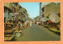 Singapore Old Postcard Mailed - Singapore