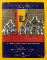 10504 -  Rwanda Violences Entre Tutsis Et Hutus De La Série La Mémoire Du Temps 1995 Humagne Rouge Dessin Giardino - Art