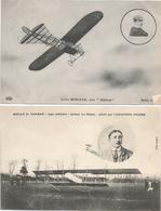 CPA 330 -- AVIATION --  MORANE Sur BLERIOT --POIRE Sur FARMAN - Postcards