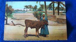 Egyptian Types And Scenes Egyptian Playmates Egypt - Cairo