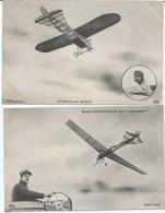 CPA 329-- AVIATION --  AUBRUN Sur Blériot --René LABOUCHERE Sur Antoinette - Postcards