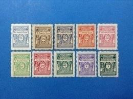 ITALIA LOTTO 10 MARCHE DA BOLLO NUOVE MNH** EPOCA FASCISTA LOCAL MUNICIPAL STEMPELMARKE FISCAUX REVENUE - Revenue Stamps