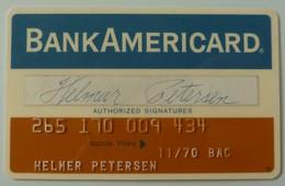 USA - Credit Card - American Bank & Trust - Bank Americard - Exp 11/70 - Used - Krediet Kaarten (vervaldatum Min. 10 Jaar)