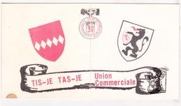 Invitation - Les Amis De Tisje Tasje - Hazebrouck FR Nord 1974 Nuit Ass Philanthropique / Concours Caravelli & Orchestre - Tickets - Vouchers