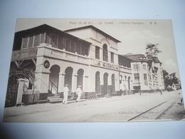 C.P.A.- Afrique - Togo - L'Hôtel Cariglio - 1920 - SUP (BW 87) - Togo